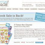 Connecting Threads: Book Sale!