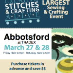 Come see us at the 2015 Creative Stitches Show!